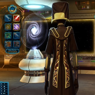 Force Magisters Armor Back