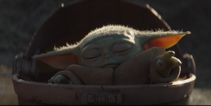 Baby Yoda - force power