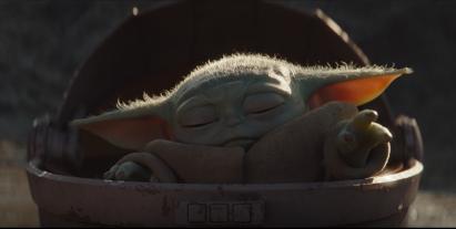 Baby Yoda - force power