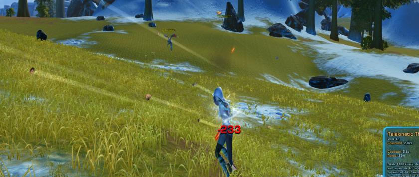 Jedi Sage Telekinetic Throw