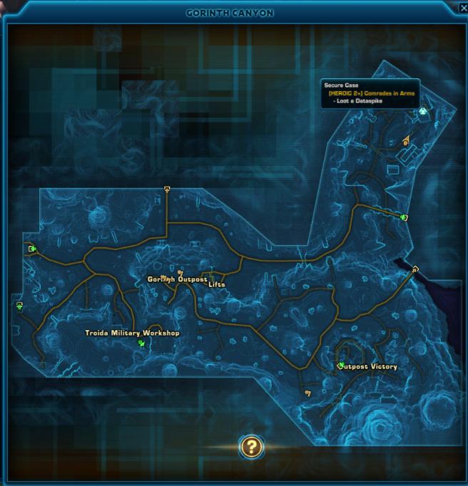 gorith map