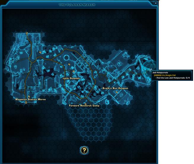 knight fall map