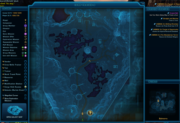 map shifting prioriteis