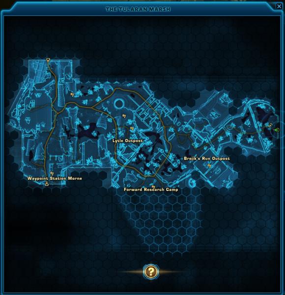 tularan mash map